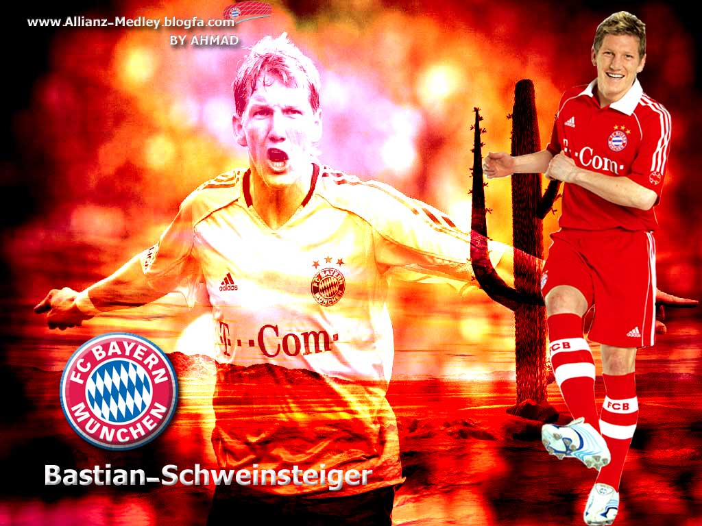Bastian Schweinsteiger Football Wallpaper